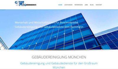 Screenshot Website 2016