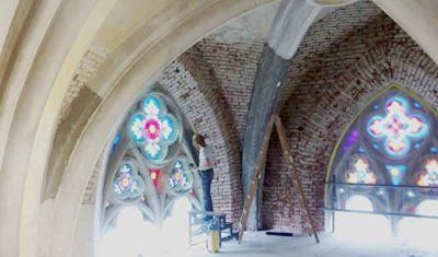 Dachgewölbe Heilig-Kreuz-Kirche