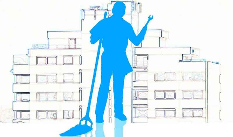 Symbolbild Behörden-Reinigung