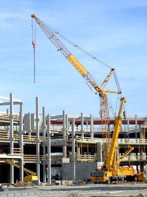 Baureinigung München: Großbaustelle in München