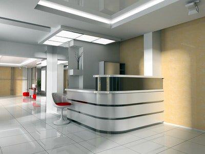 Unterhaltsreinigung München: Bürofläche in München nach der Reinigung