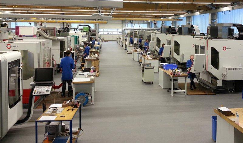 GEWO Feinmechanik Feinraumreinigung München Industriereinigung